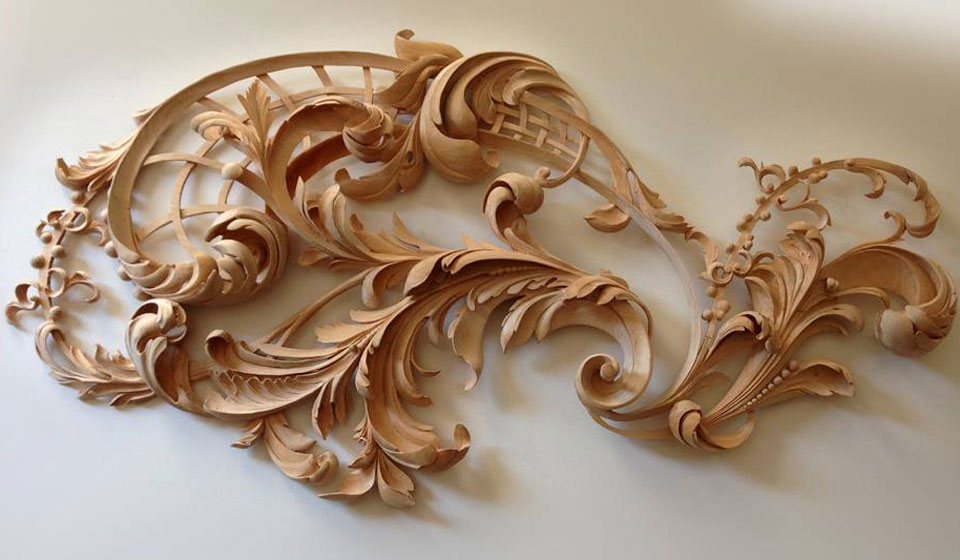 Rococo Wood Carving