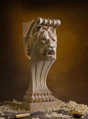 Custom Wood Carving by Master Wood Carver Alexander Grabovetskiy