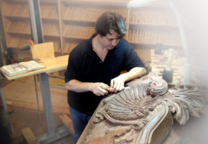 Custom Wood Carving by Master Wood Carver Alexander Grabovetskiy