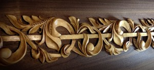 Hand Carved Molding Onlay