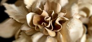 Hand Carved Flower